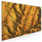 fotoobraz z motywem złotego liścia - Złote liście we wnętrzach – najmodniejszy trend tego roku!