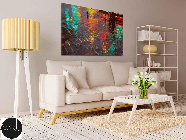 kolorowy obraz abstrakcyjny