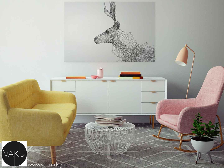 geometryczny obraz minimalistyczny