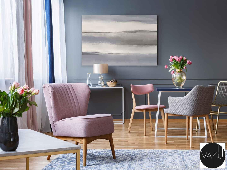 minimalistyczny obraz abstrakcyjny