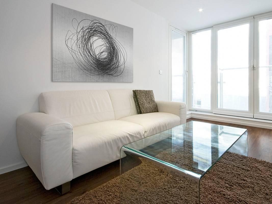 Cząstki splątane - nowoczesny obraz do sypialni - 120x80 cm