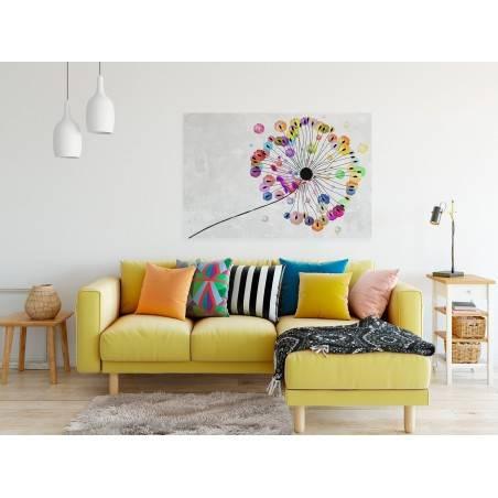 Podmuch radości - nowoczesny obraz na płótnie - 120x80 cm