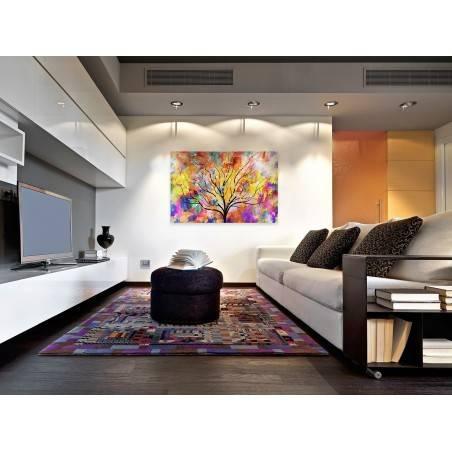 Monsun zmian - nowoczesny obraz na płótnie - 120x80 cm
