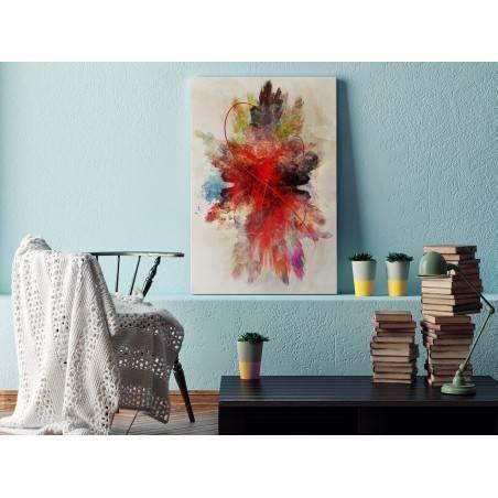 W objęciach Morfeusza - nowoczesny obraz na płótnie - 120x80 cm