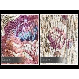 Synteza piękna - nowoczesny obraz na płótnie - 120x80 cm
