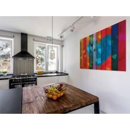 Dziesięć przykazań miłości - nowoczesny obraz do sypialni - 120x80 cm