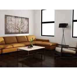 Rustykalny spokój - nowoczesny obraz na płótnie