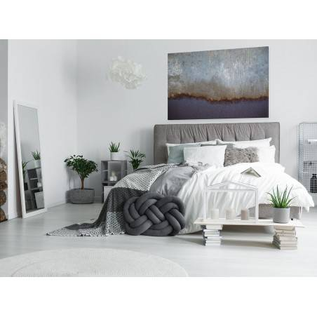Gwieździsta północ - fotoobraz do salonu - 120x80 cm