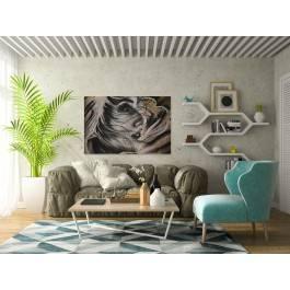 Piękno niewinności - fotoobraz do salonu - 120x80 cm