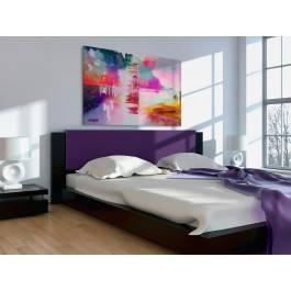 Pastelove przeboje - nowoczesny obraz na płótnie - 120x80 cm