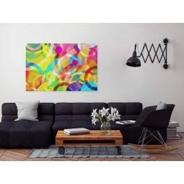 Klub marzycieli - nowoczesny obraz na płótnie - 120x80 cm