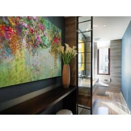 Wonny woal - nowoczesny obraz na płótnie - 120x80 cm