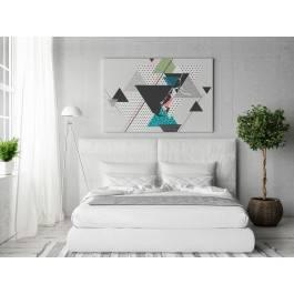 Vademecum - nowoczesny obraz na płótnie - 120x80 cm