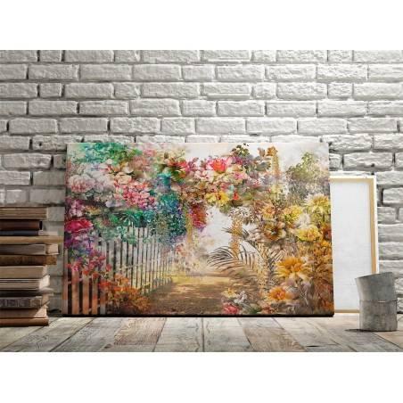 Eteryczny biegun - nowoczesny obraz na płótnie - 120x80 cm