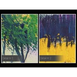 Dolce vita - nowoczesny obraz na płótnie - 120x80 cm