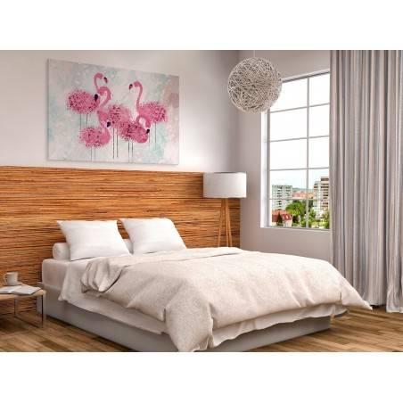 Think pink - nowoczesny obraz na płótnie - 120x80 cm