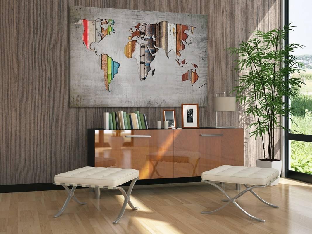 Porządek świata - nowoczesny obraz na płótnie - 120x80 cm