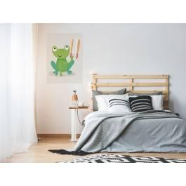 Podróżniczka Monika - nowoczesny obraz na płótnie - 50x70 cm