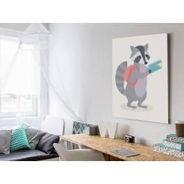 Wycieczkowicz Nikodem - nowoczesny obraz na płótnie - 50x70 cm