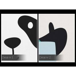Biwakowicz Łukasz - nowoczesny obraz na płótnie - 50x70 cm