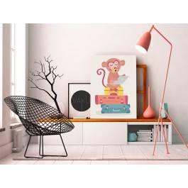 Wczasowicz Felek - nowoczesny obraz na płótnie - 50x70 cm