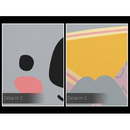 Benek zdobywca - nowoczesny obraz na płótnie - 50x70 cm