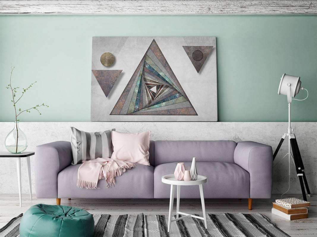 Wielka wyrocznia - nowoczesny obraz na płótnie - 120x80 cm