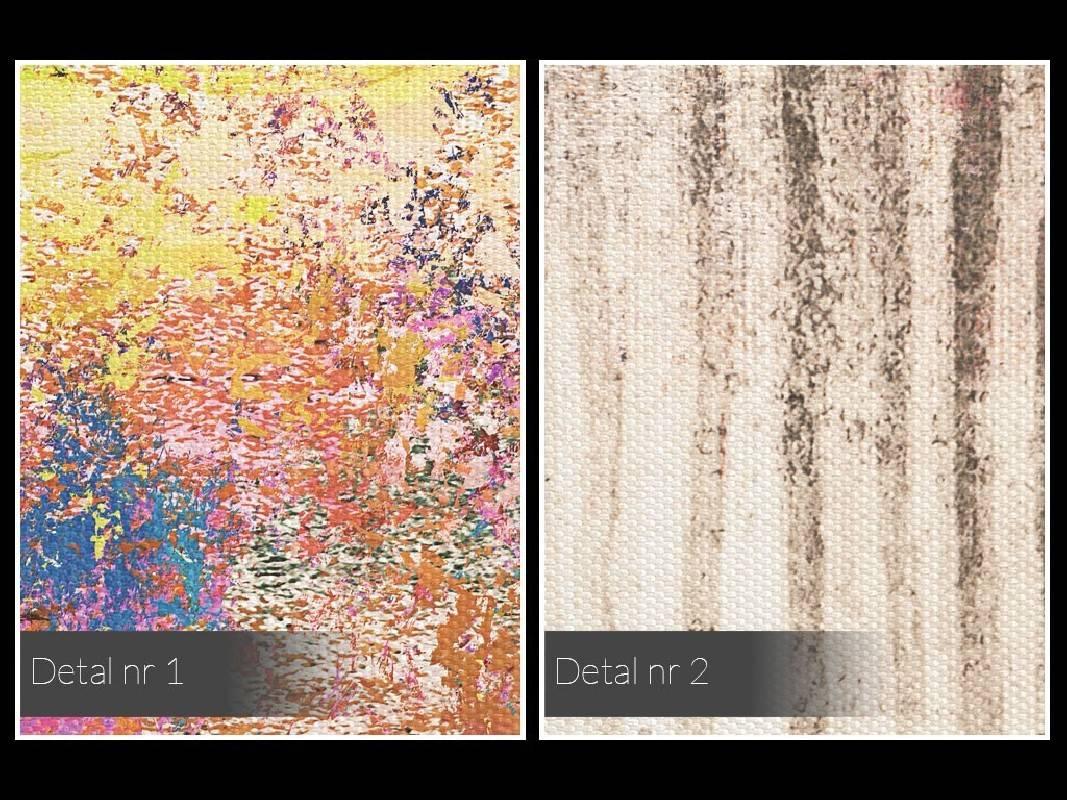 Z wnętrza do głębi - nowoczesny obraz na płótnie - 120x80 cm