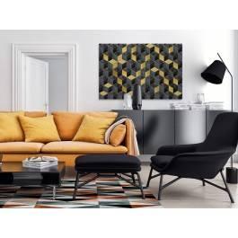 Wytworny raut - nowoczesny obraz na płótnie - 120x80 cm