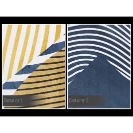Antymateria - nowoczesny obraz na płótnie - 120x80 cm