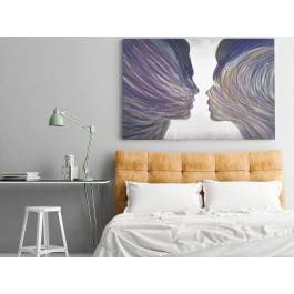 Umiłowanie - nowoczesny obraz na płótnie - 120x80 cm