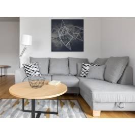 Głębia niebytu - nowoczesny obraz na płótnie - 80x80 cm