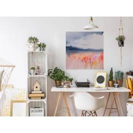 Rekonesans szczęścia - nowoczesny obraz do sypialni - 80x80 cm