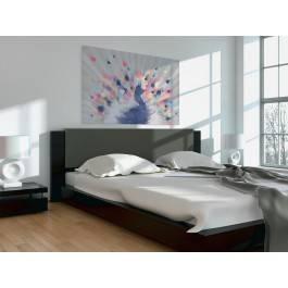Rozpromieniony - nowoczesny obraz do sypialni