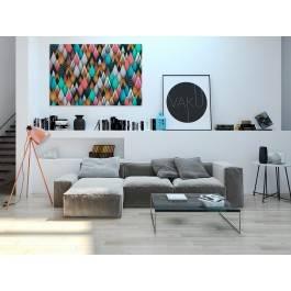 Spichlerz marzeń - nowoczesny obraz na płótnie - 120x80 cm