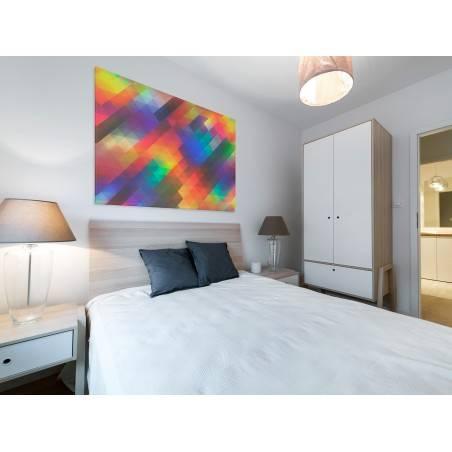 Śmiałość - nowoczesny obraz na płótnie - 120x80 cm
