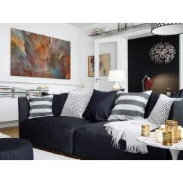 Meteoria - nowoczesny obraz do salonu - 120x80 cm