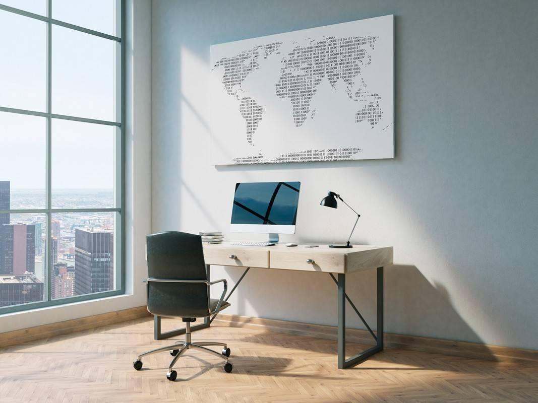 Binearium - nowoczesny obraz na płótnie - 120x80 cm