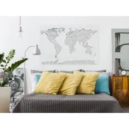 Interkontynentalna sieć - nowoczesny obraz na płótnie