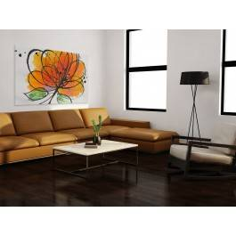 Przeplatane naturą - nowoczesny obraz na płótnie - 120x80 cm