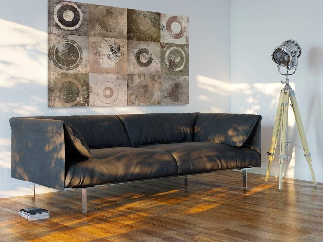 W kręgu przyjaciół - nowoczesny obraz do salonu - 120x80 cm
