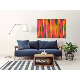 Katarakta - nowoczesny obraz do salonu - 120x80 cm