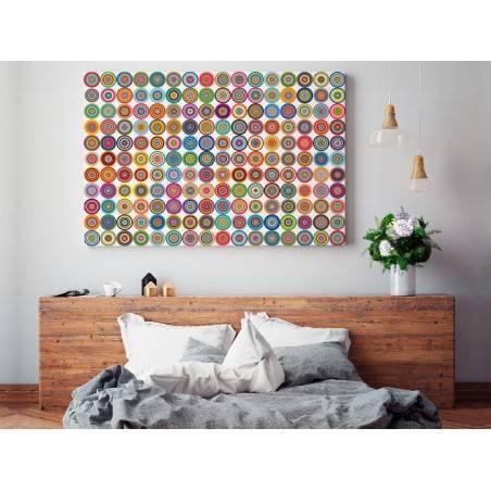 Fantom - nowoczesny obraz do sypialni - 120x80 cm