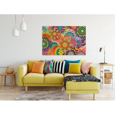 Oczyszczająca mantra - nowoczesny obraz na płótnie - 120x80 cm