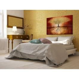 Złota korona ziemi - nowoczesny obraz na płótnie