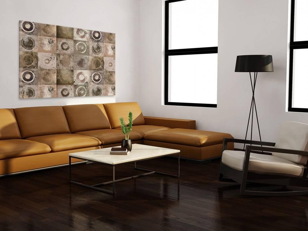 W kręgu przyjaciół - nowoczesny obraz na płótnie - 120x80cm