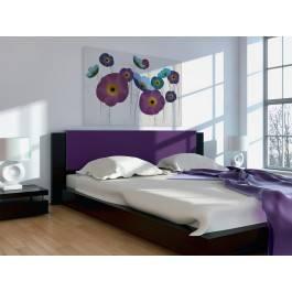 Jak w korcu maku - nowoczesny obraz do sypialni
