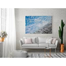 Boska Riviera - nowoczesny obraz na płótnie - 120x80 cm