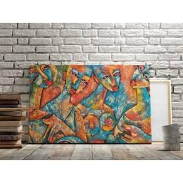 Muzy Adonisa - nowoczesny obraz na płótnie