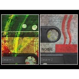 Wspomnienie analogowej jakości - nowoczesny obraz na płótnie